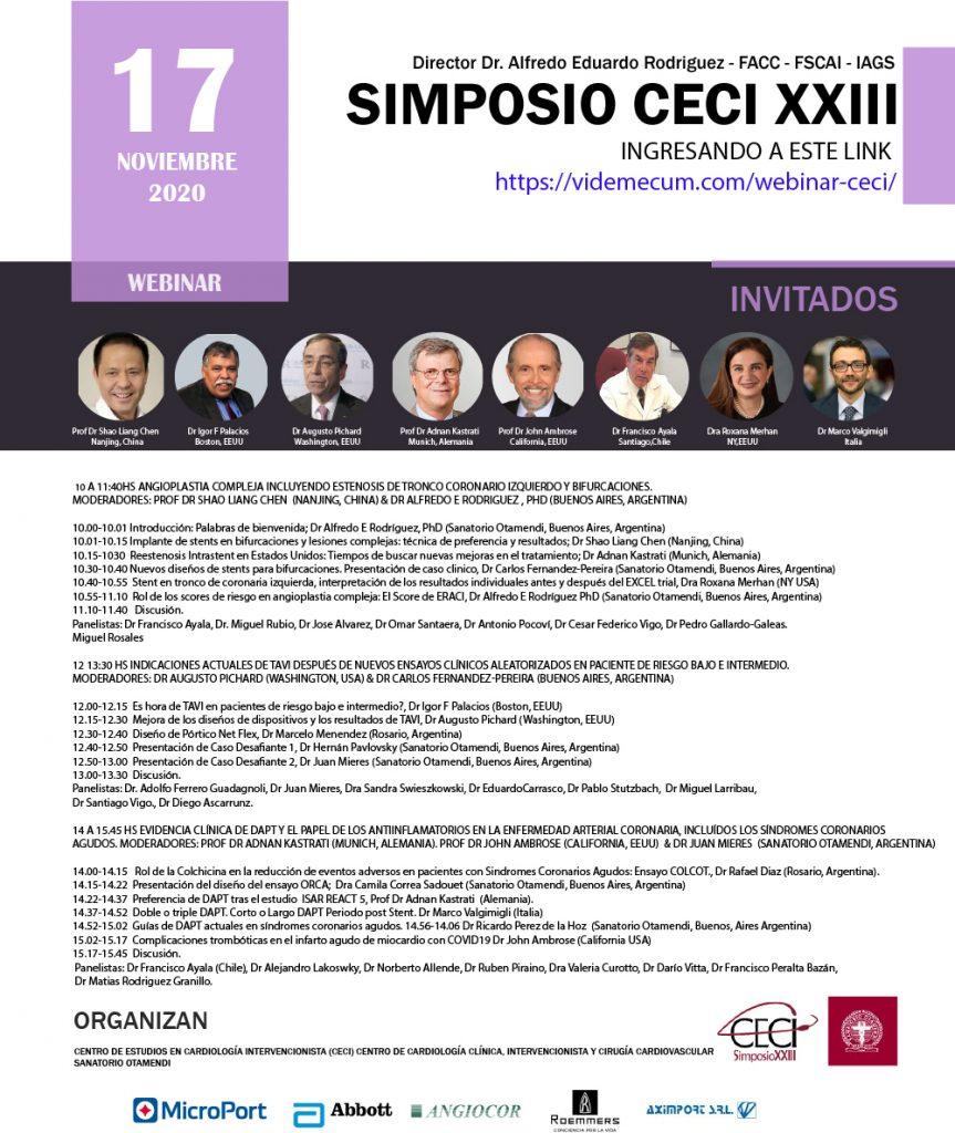 SIMPOSIO CECI XXIII